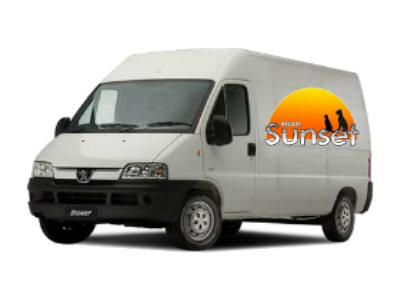 Transporte adequado com Ar Condicionado da sua casa até o hotel